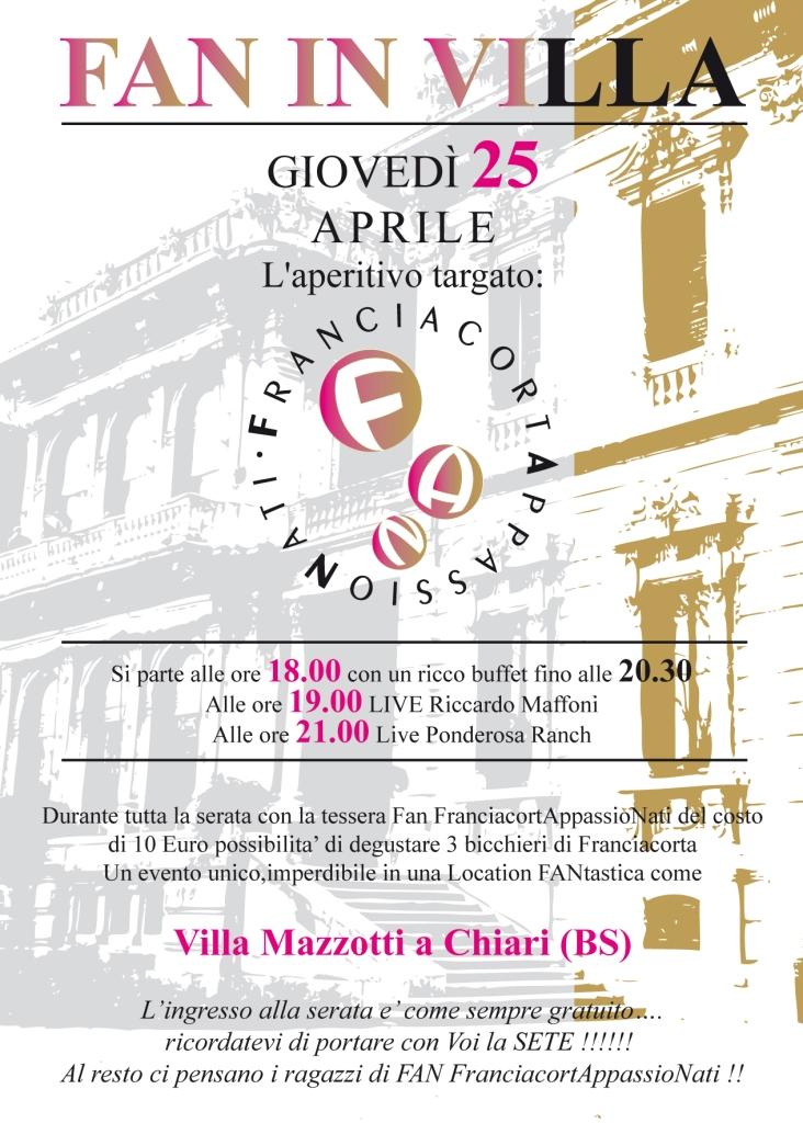 Franciacorta, Wine, Villa Mazzotti, Chiari