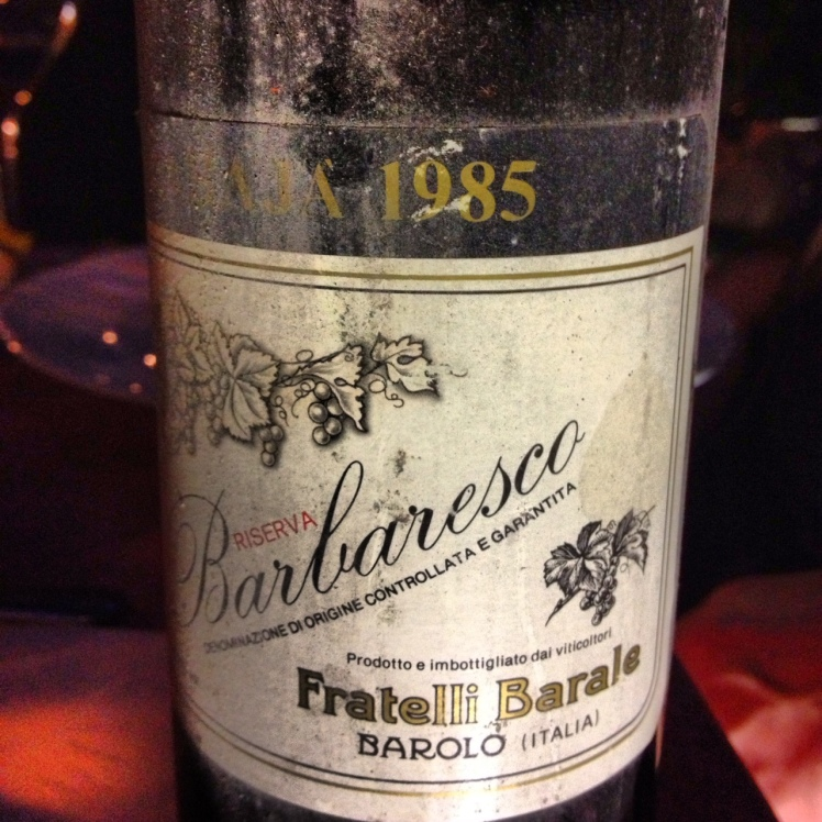 Barale, Red Wine, Barbaresco