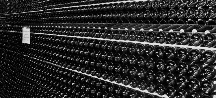catasta bottiglie