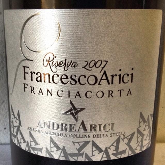 Francesco Arici, Wine, Franciacorta