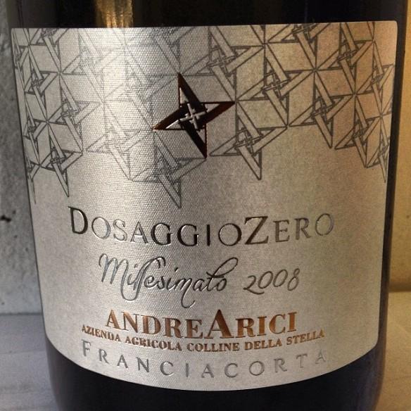 """Dosaggio Zero 2008 e Riserva 2007 """"Francesco Arici""""."""