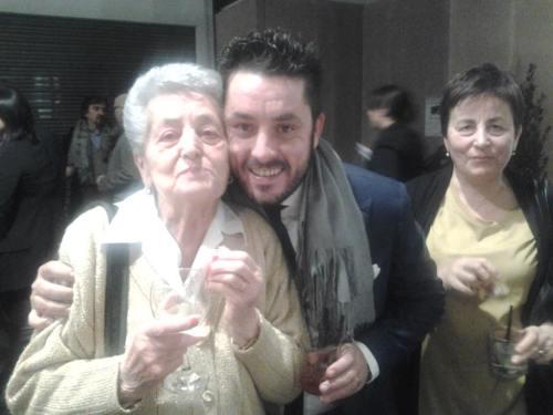 Luca Martini con Nonna Giovanna e mamma
