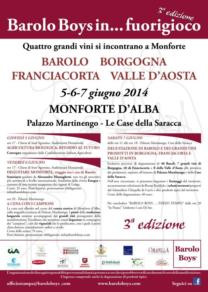 Barolo Bopys locandina programma 2014