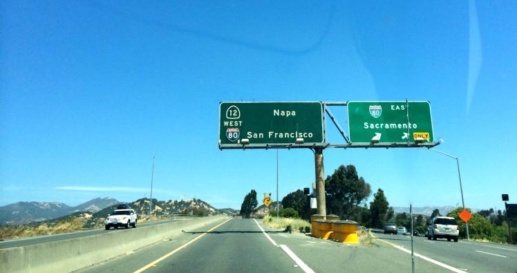 Napa, San Francisco, Sacramento