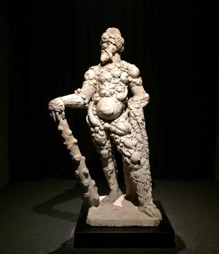 statua arcimboldesca