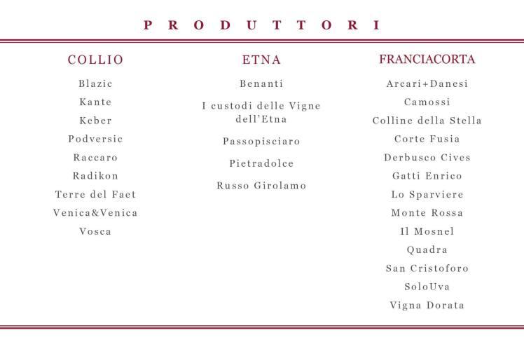 elenco franciacorta