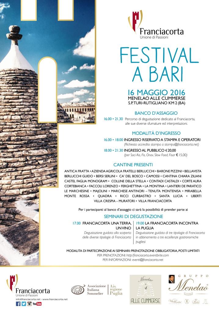 Festival Franciacorta Bari