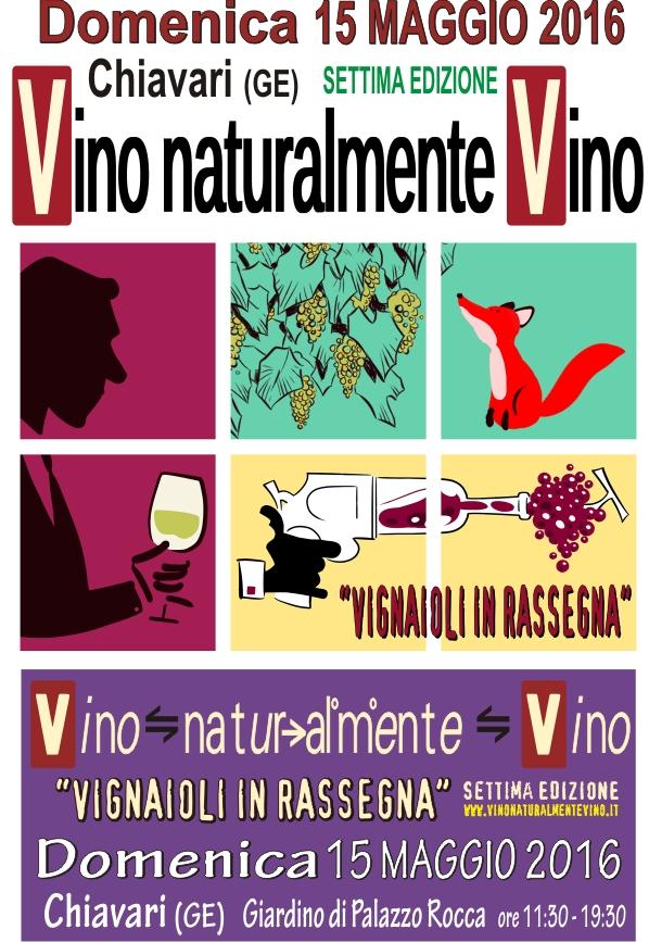 LOCANDINA Vino Naturalmente 15 maggio Chiavari