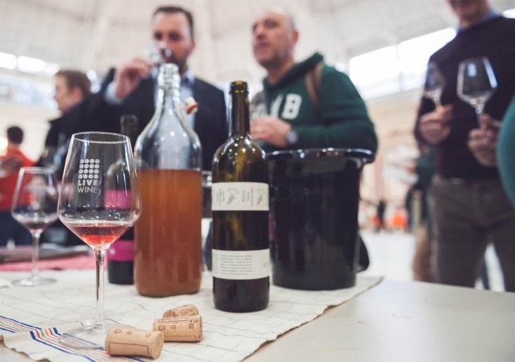 Live Wine, Salone Internazionale del Vino Artigianale. Milano 6 marzo 2016.
